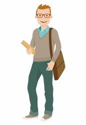Graphic Download Student University Cartoon Clip College Student Cartoon Png Transparent PNG Download #3029156 Vippng