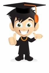 Cartoon Smiling Graduation Boy [png] Png Student Graduate Clipart Png Transparent PNG Download #352400 Vippng