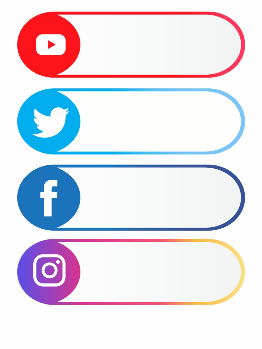 Facebook Twitter Instagram Icons : facebook, twitter, instagram, icons, Youtube, #facebook, #twitter, #instagram, Facebook, Instagram, Twiter, Transparent, Download, #3628871, Vippng