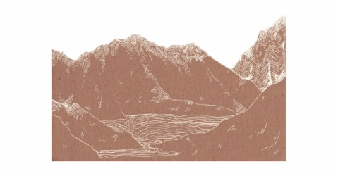 mountains #png #tumblr Brown Background Aesthetic Transparent PNG Download #399524 Vippng