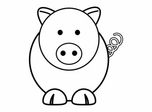 animal easy simple drawing resolution face vippng pig ai downloads kb views format