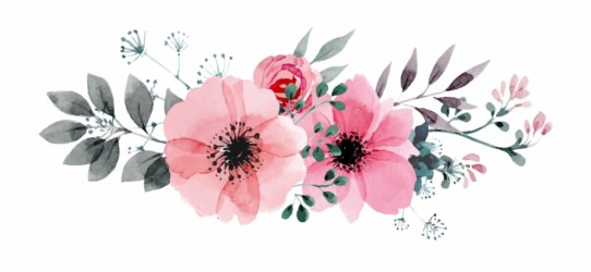 Flowers Vectors Clipart Png Image 05 Watercolor Flowers Png Hd Transparent PNG Download #469678 Vippng