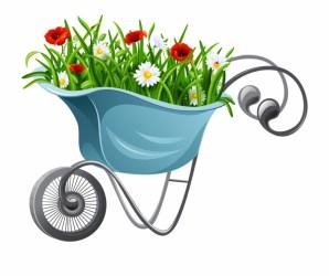 Gardening Clipart Garden Item Cartoon Garden Tools Transparent PNG Download #4753227 Vippng