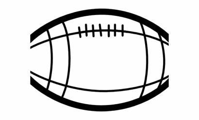 Football Ball Clipart Black And White Transparent PNG Download #5156920 Vippng