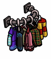 Clothing Clipart Clothes Shopping Cartoon Clothes Shop Png Transparent PNG Download #868625 Vippng