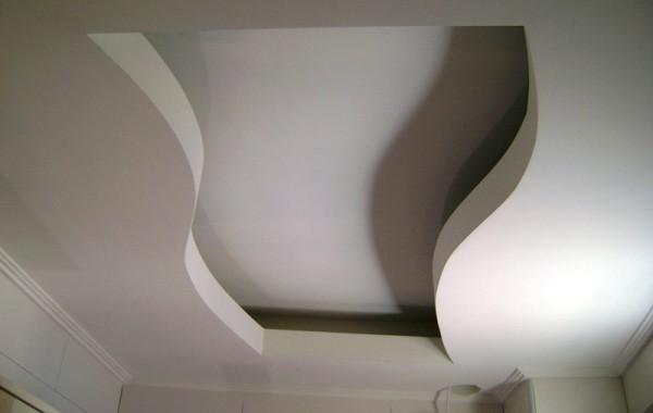 Работа по выравниванию потолка