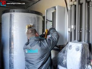 Монтаж и установка электрического котла