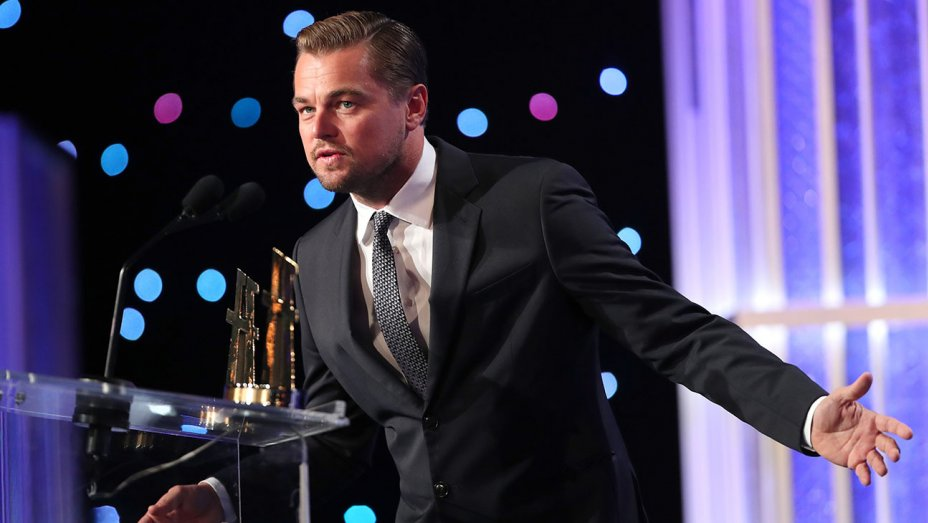 Leonardo DiCaprio, Robert De Niro Get Political at Hollywood Film Awards