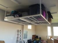 Garage Storage Ceiling Racks - Ceiling Design Ideas