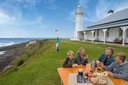 Working Green Cape Lighthouse