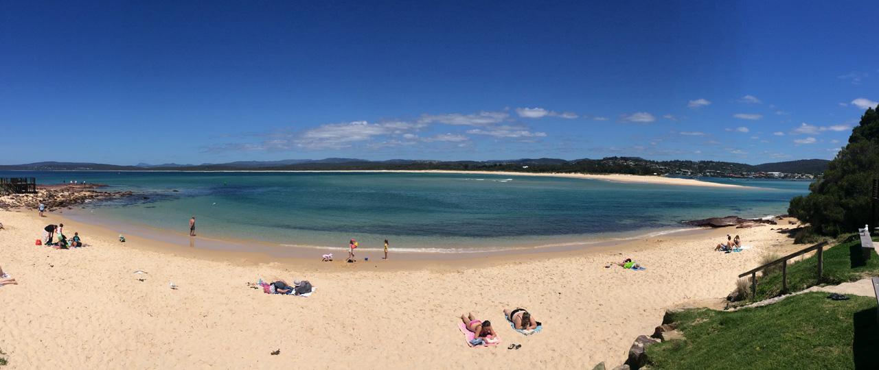 Sapphire Coast Beach