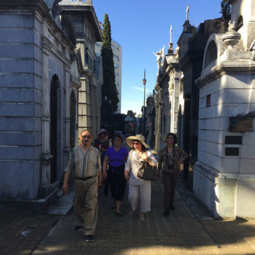 VIP TOURS BA - EXPERIENCES IN BUENOS AIRES - CEMETERY