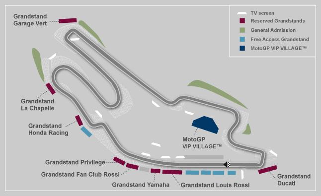 Mapa del Circuito