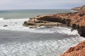 High tide at tidepools