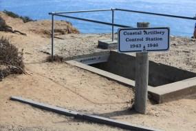 Entrance to Battery E