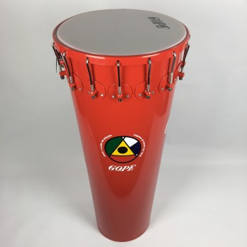 "Gope Timbal, Aluminum, 16 lugs ""Dida"" red"