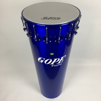 Gope Timbal, Painted Aluminum, 14″x90cm, 16 lugs