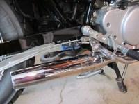 The cheap Virago 250 2-to-1 exhaust mod  no parts ...