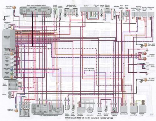 small resolution of virago 920 wiring diagram wiring diagram yer1982 yamaha virago 920 wiring wiring diagram pass yamaha virago