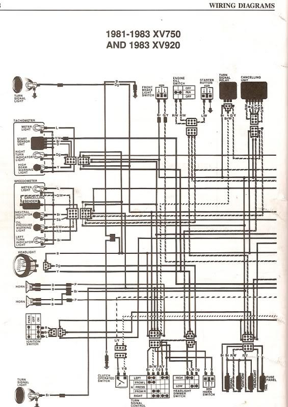 81 virago wiring diagram wiring diagram nighthawk 250 wiring diagram image about