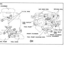 1983 Yamaha Virago Xv500 Wiring Diagram Alpine Car Cd Player Viragotechforum.com • View Topic - Fuel And Vacuum Line Help