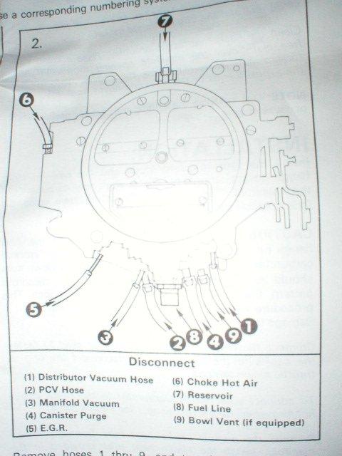 Carb 350 Chevy Vacuum Diagrams