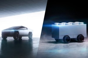Lego's take on the Tesla 'Cybertruck' comes with innovative roof racks – TechCrunch