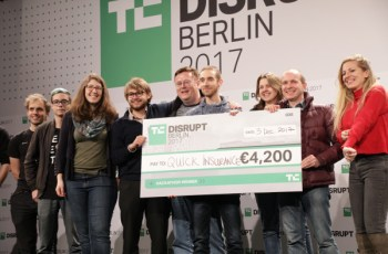 Check out the prizes for TC Hackathon at Disrupt Berlin – TechCrunch