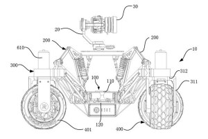 DJI patents an off-road rover with a stabilized camera on top – TechCrunch
