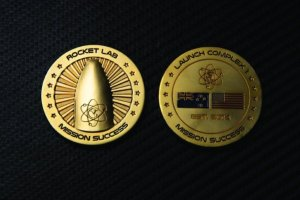 "Rocket Lab adds new $7.5 million ""Mission Success"" coin to its online store – TechCrunch"
