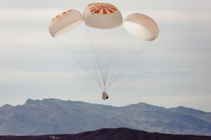SpaceX achieves key safety milestone for crewed flight with 10th parachute test – TechCrunch