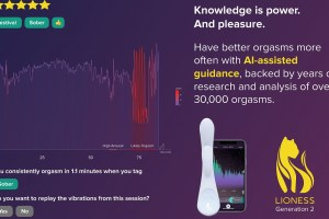 Lioness AI sex toy can teach you about your orgasms