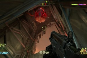 Doom Eternal — my lucky shot at a Cacodemon