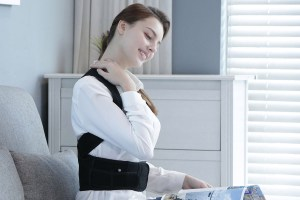 Hunched over a computer all day? Improve your posture with this innovative corrector