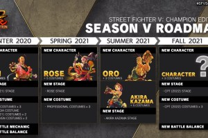 Street Fighter V's last character pass includes Akira from Rival Schools