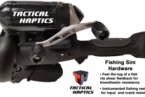 Tactical Haptics reveals new SaberGrip for VR fishing and sword fights