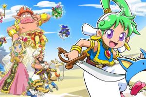 Wonder Boy: Asha in Monster World continues the classic sidescroller series