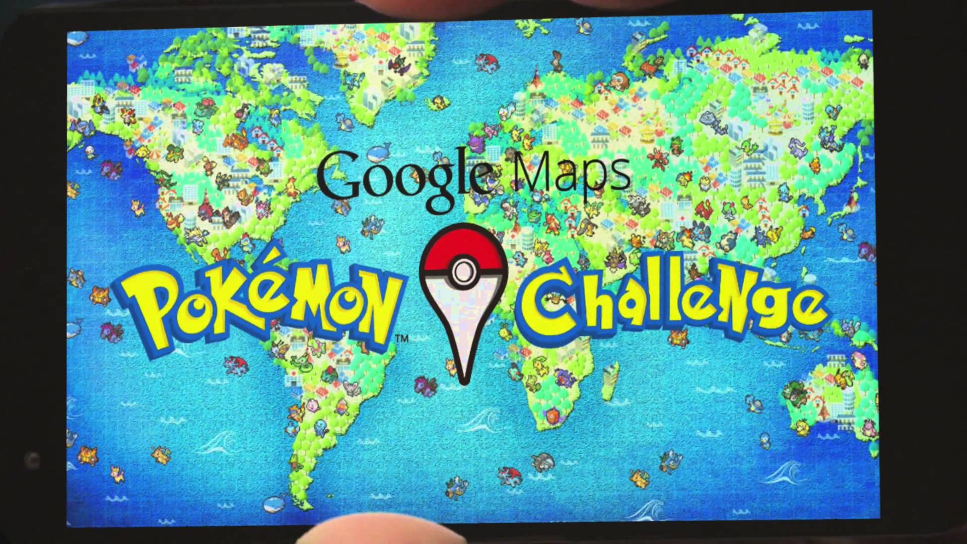 Google推出Pokémon地圖,真的能用!(附影片)