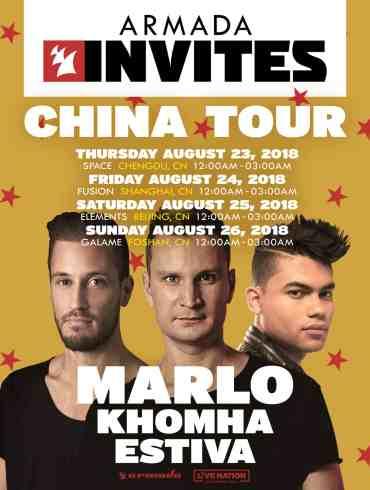 Armada Music Returns To China