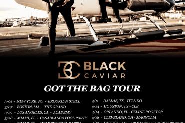 NYC electronic duo Black Caviar