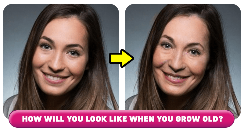 How will you look like when you grow old?