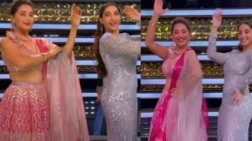 Dance Deewane 3 Nora Fatehi Dance on Mera Piya Ghar Aaya and Dilbar
