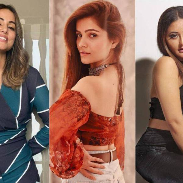 Rashami Desai Hina Khan Rubina Dilaik meet highest paid contestants of Bigg Boss