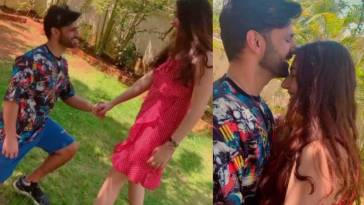 Rahul Vaidya Disha Parmar romantic video