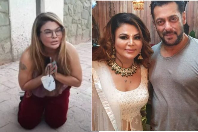Rakhi Sawant Cries on Road after her mother's surgery gets successful with salman khan's help
