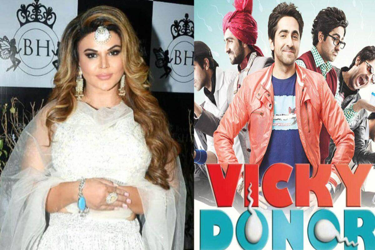 Rakhi Sawant Husband kids Vicky Donor