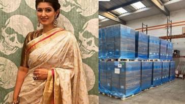 Twinkle Khanna Akshay Kumar help to india for covid