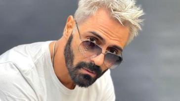 Arjun Rampal Flaunts His New Platinum blonde look On Instagram
