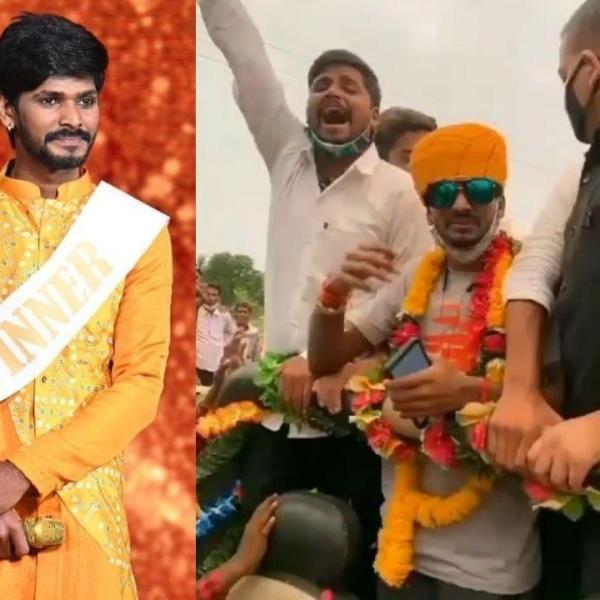 Indian Idol 12 Fame Sawai Bhatt gets a Grand welcome in hometown