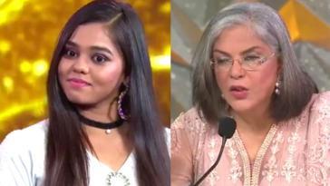 Indian Idol 12 Contestant Shanmukhapriya Chura Liya Hai Tumne Zeenat Aman Reaction